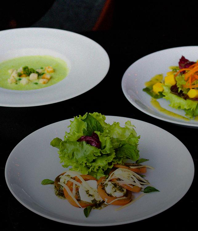 prato de salada